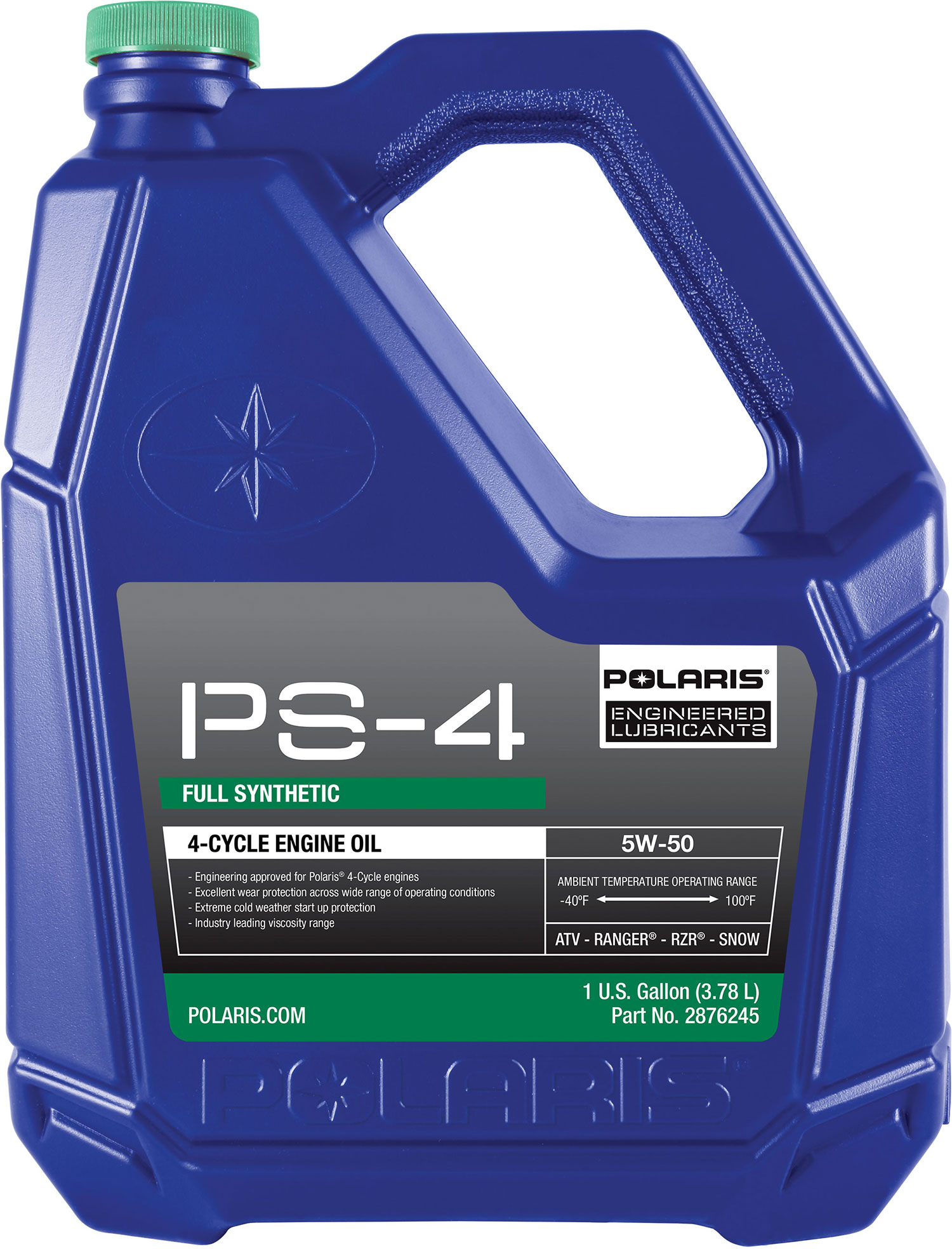 Polaris New Oem Atv Ps 4 Synthetic 4 Cycle Engine Oil 1